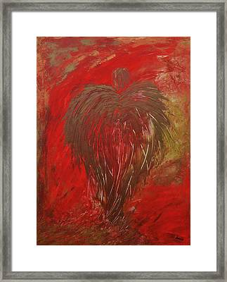 Jaded Angel Framed Print