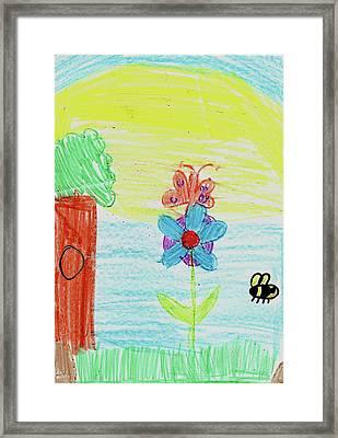 Jadei L Framed Print by Jadei L