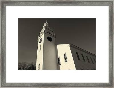 Jaffrey Meetinghouse Framed Print