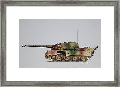Jagdpanther  Framed Print by Rick Bennett