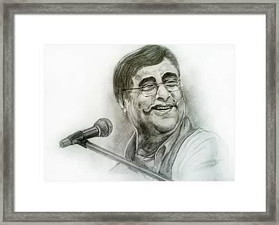 Jagjit Singh Framed Print by Mayur Sharma