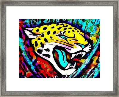 Jags Head Framed Print by Clint Day
