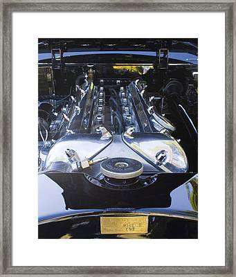 Jaguar 3.4l Framed Print by Alan Raasch