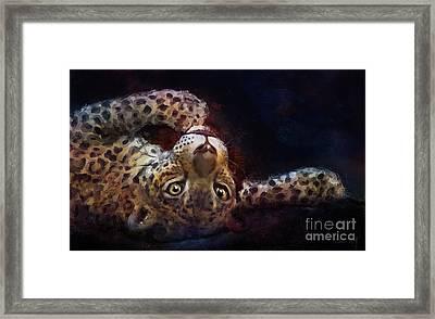Jaguar Artwork 5023 Framed Print