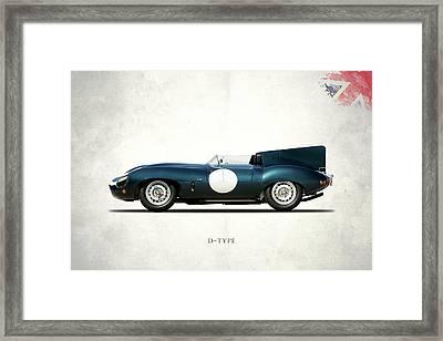 Jaguar D-type Framed Print
