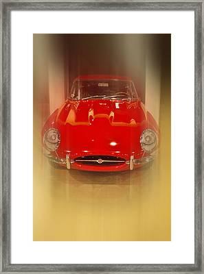 Jaguar E-type 1960s Framed Print