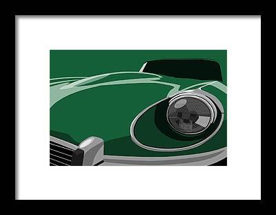 Jaguar Framed Prints