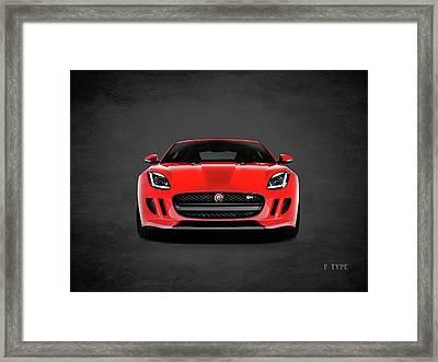 Jaguar F Type Framed Print by Mark Rogan