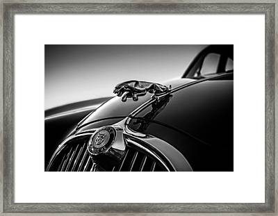 Framed Print featuring the digital art Jaguar Mascot by Douglas Pittman