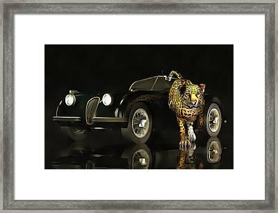 Jaguar Mk 3 Framed Print