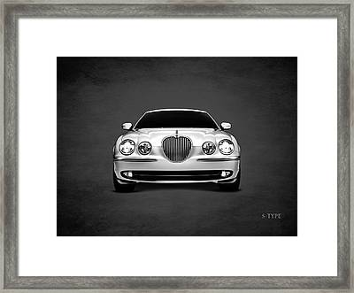 Jaguar S Type Framed Print