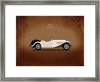 Jaguar Ss1 Tourer Framed Print