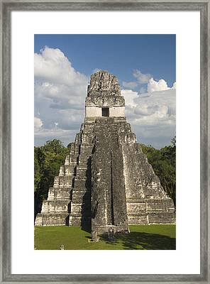 Jaguar Temple Framed Print by Gloria & Richard Maschmeyer