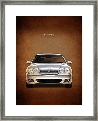 Jaguar X Type Framed Print