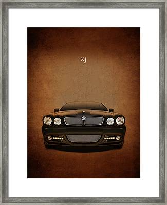 Jaguar Xj Framed Print by Mark Rogan