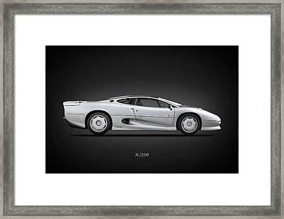 Jaguar Xj220 1992 Framed Print by Mark Rogan