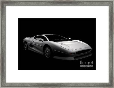 Jaguar Xj220 Framed Print