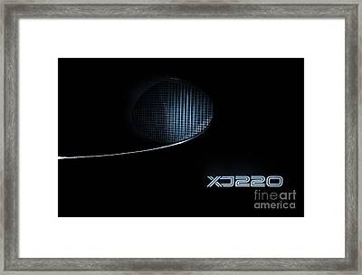 Jaguar Xj220 Framed Print by Tim Gainey