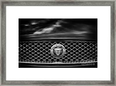 Jaguar Xk Framed Print by Tim Gainey