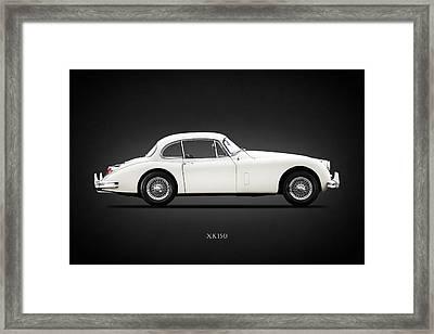 Jaguar Xk150 Framed Print
