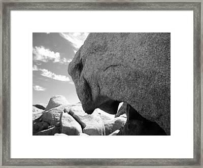 Jaguar's Cave Framed Print by Bransen Devey