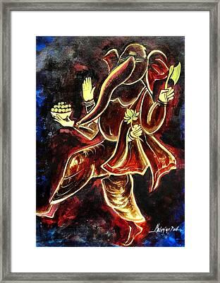 Jai G Framed Print