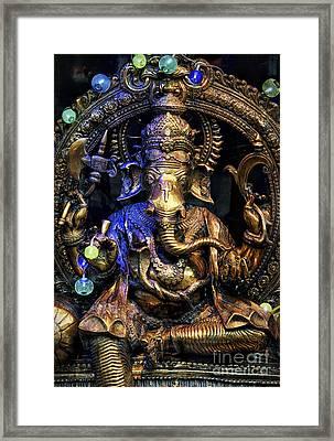 Jai Ganesh Framed Print by Tim Gainey