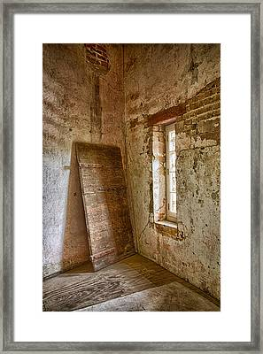 Jail House Wall Framed Print