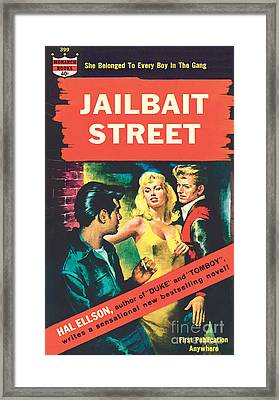 Jailbait Street Framed Print by Ray Johnson