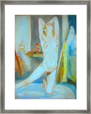 Jaime Exuberant Framed Print