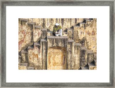 Jaipur - India Framed Print by Joana Kruse