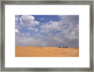 Jaisalmer Desert Festival-1 Framed Print