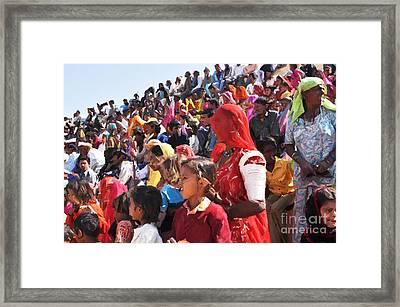 Jaisalmer Desert Festival-10 Framed Print