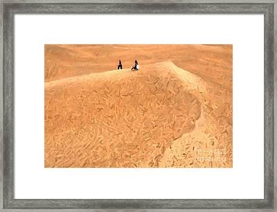 Jaisalmer Desert Festival-4 Framed Print