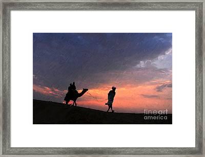 Jaisalmer Desert Festival-6 Framed Print