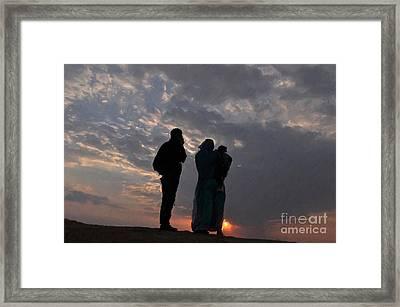 Jaisalmer Desert Festival-8 Framed Print