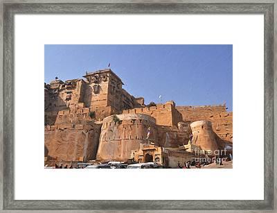 Jaisalmer Desert Festival-9 Framed Print