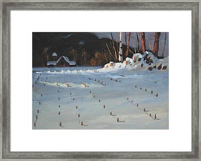 Jajko's Place Framed Print by Len Stomski