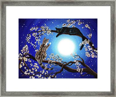 Jake And Sasha Framed Print by Laura Iverson
