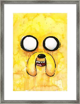 Jake Framed Print