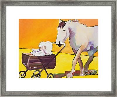 Jake Framed Print by Pat Saunders-White