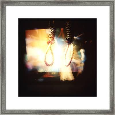 Jalousie Framed Print by Erin O