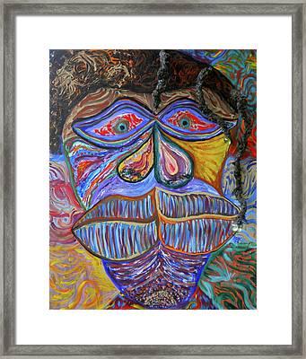 Jamaican Me Crazy Framed Print