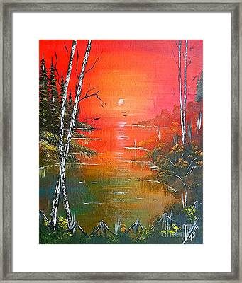 Jamaican Sunrise Framed Print
