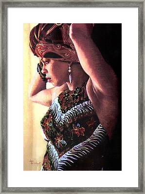 Jamaican Woman Framed Print