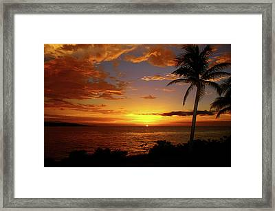Jamaica's Warm Breeze Framed Print