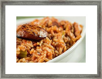 Framed Print featuring the photograph Jambalaya by Ryan Smith