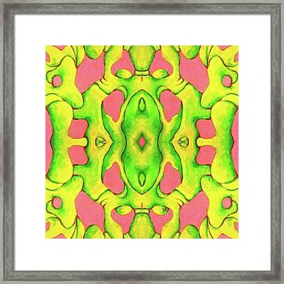 Jamdown High Framed Print
