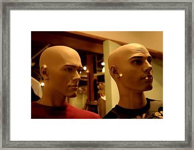 James And Chum Framed Print by Jez C Self