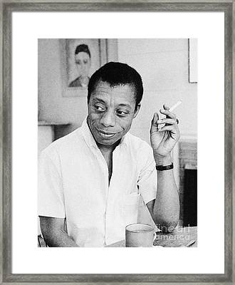 James Baldwin (1924-1987) Framed Print